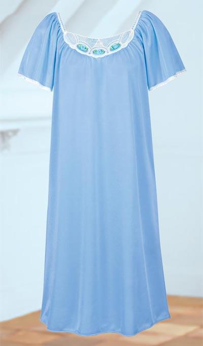 Soft & Feminine Tricot Nightgown