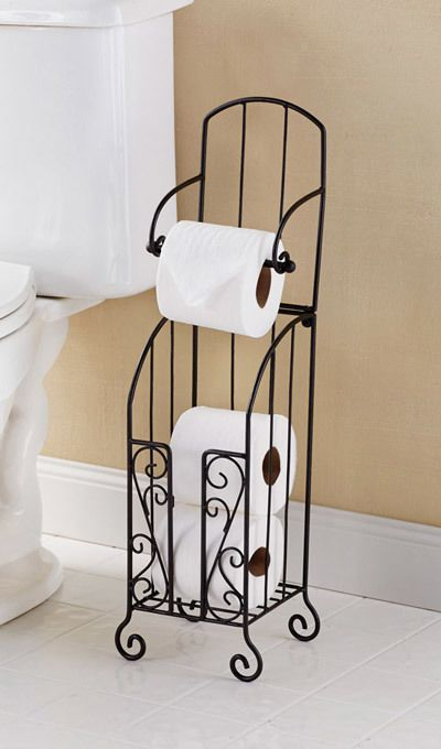 Toilet Paper Stand with Storage