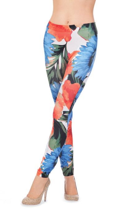 Exotic Floral Leggings