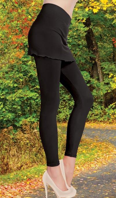 Modest Miniskirt Leggings