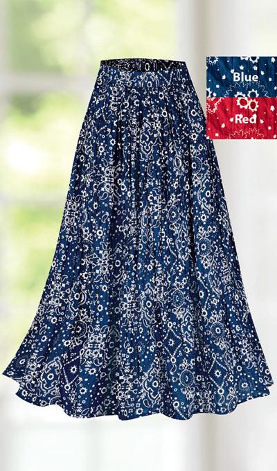 Bandana Skirt