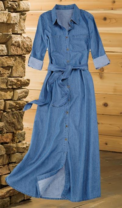 Denim Weekender Dress