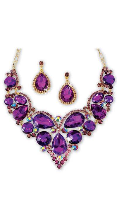 Dazzling Royal Jewelry Set