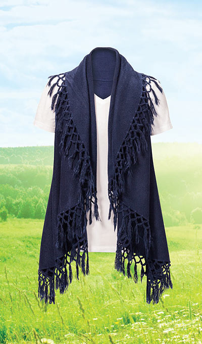 Fringe Shawl-Magic Scarf