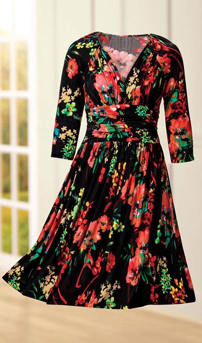 Midnight Oasis Dress