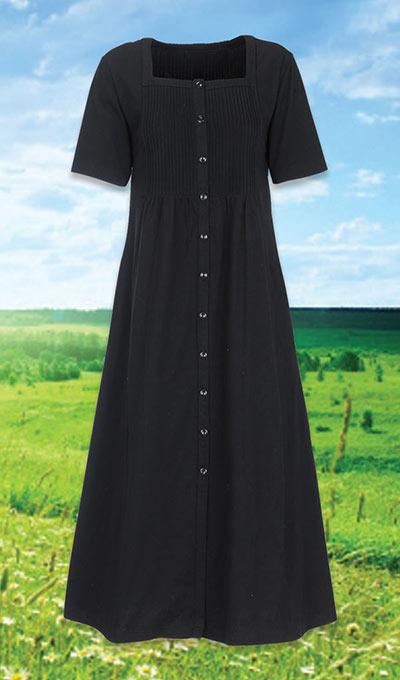 Fabulous Fuss-Free Dress - Black