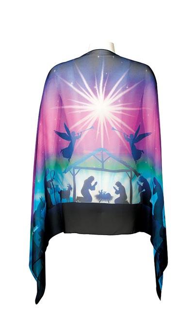 Nativity Scene Scarf