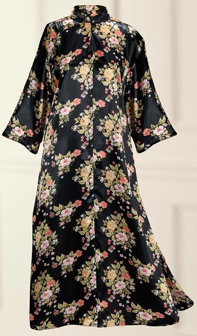 Flowery Black Robe