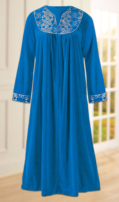 Elegant Embroidered Robe