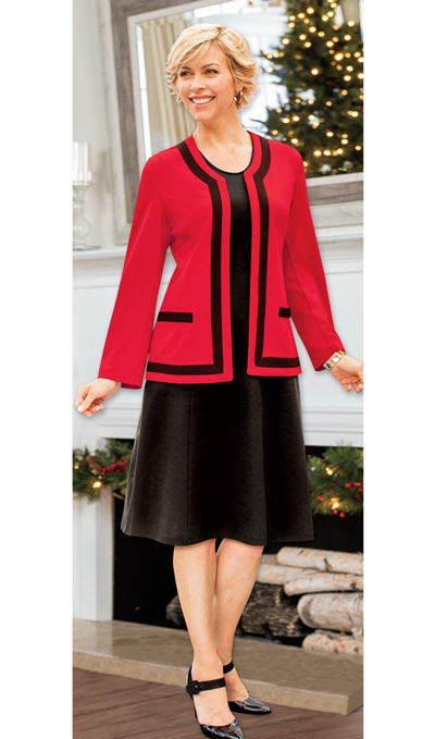 Classic Jacket Dress Set