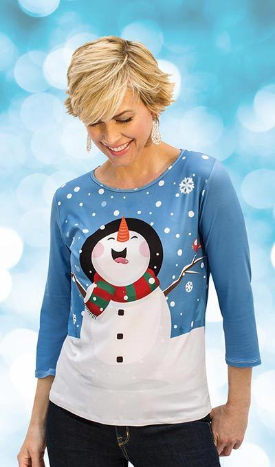 Snow Adorable Top