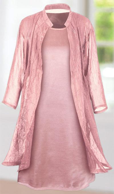 Satin Glamour Tank Dress
