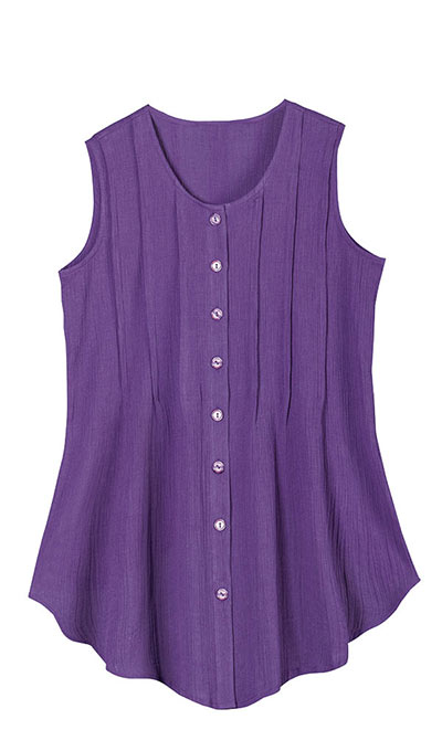 Sleeveless Fabulous Tunic Top