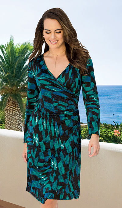 Midnight Ocean Breeze Dress