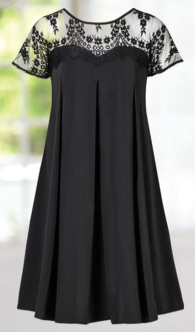 Simply Elegant Lace Dress