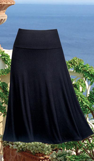 Classic Flared Skirt