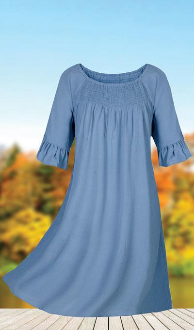 Stylish Smocked Dress