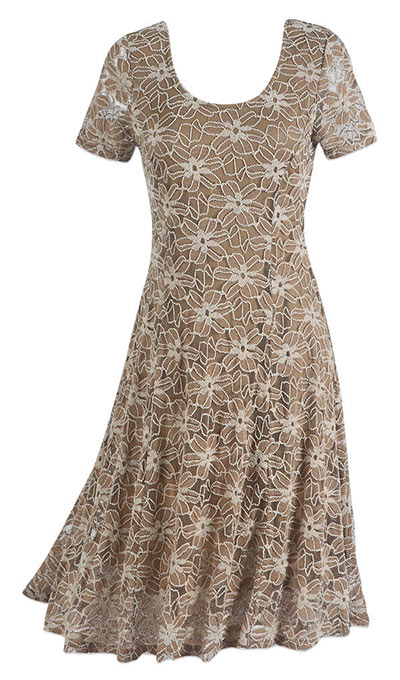 Latté Lace Dress