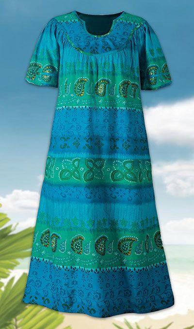 Pacific Paradise Patio Dress