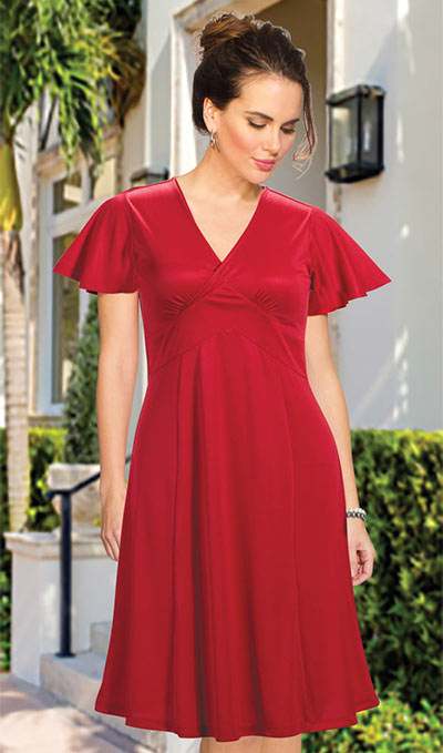 Flattering Empire Dress