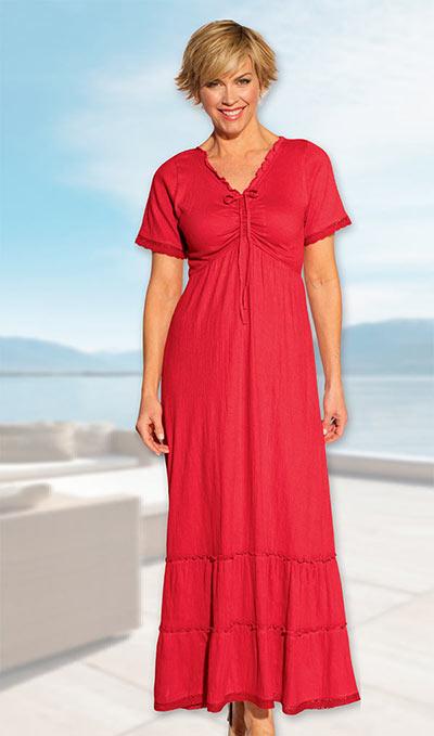 Comfy Peasant Dress