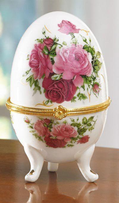 Rose Trinket Box