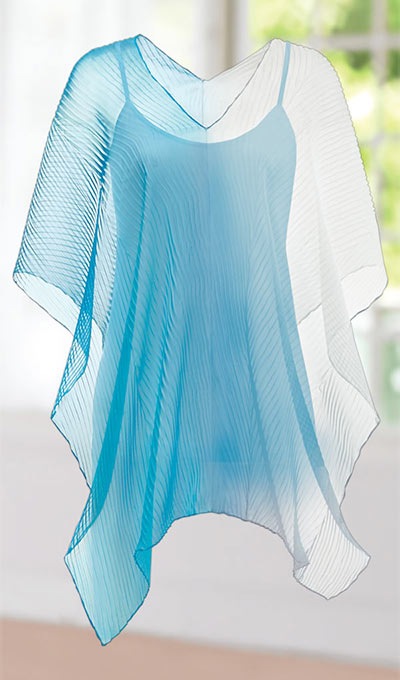 Asymmetric Sheer Cover-Up
