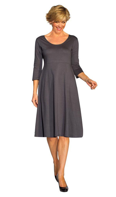 Figure Flattering Dress & Free Scarf