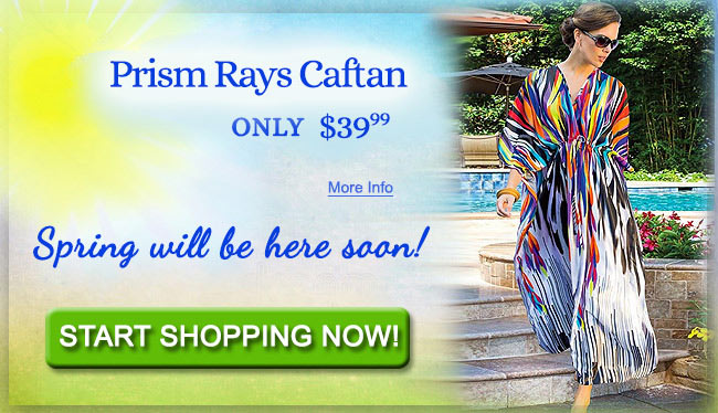 Prism Rays Caftan