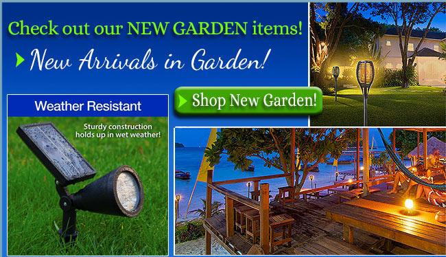 New Garden Arrivals