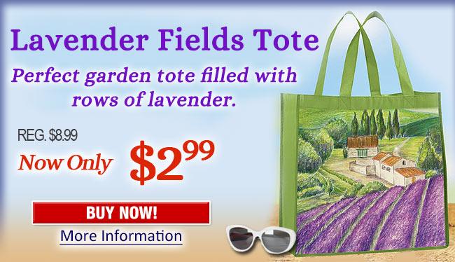 Lavender Fields Tote
