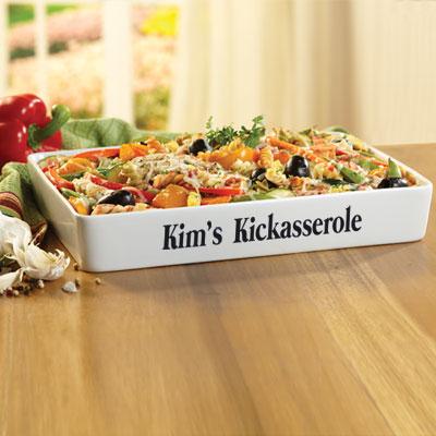 Personalized Kickasserole Dish