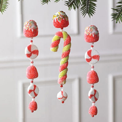 Candy & Gumdrop Ornament