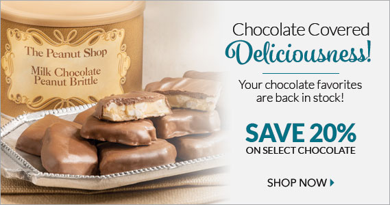Chocolate Sale - The Peanut Shop of Williamsburg