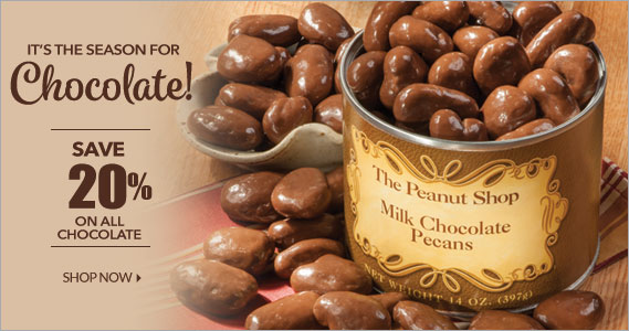 Chocolate Sale  - The Peanut Shop of Williamsburg