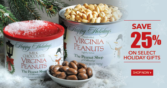 Holiday Gifting Sale  - The Peanut Shop of Williamsburg