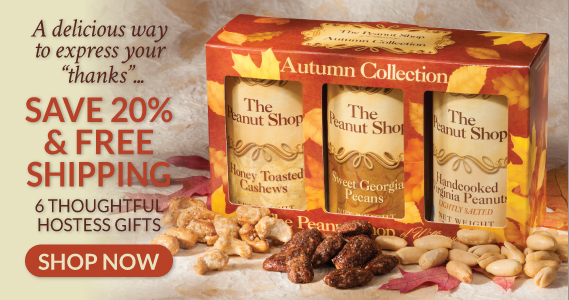Hostess Gifts On Sale - The Peanut Shop of Williamsburg