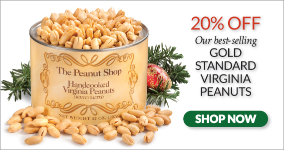 Gold Standard Sale - The Peanut Shop of Williamsburg