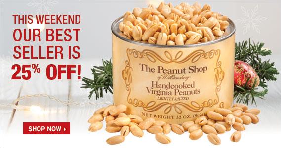 Gold Standard Sale - The Peanut Shop of Williamsburg