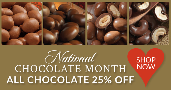 National Chocolate Month Sale - The Peanut Shop of Williamsburg