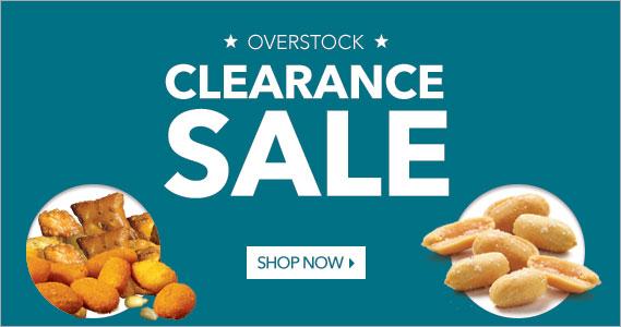 Clearance Sale - The Peanut Shop of Williamsburg