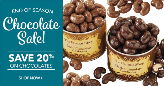 Sitewide Sale - The Peanut Shop of Williamsburg
