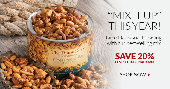 Father's Day Sale - The Peanut Shop of Williamsburg