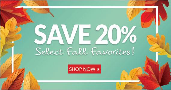 Fall Favorite Specials 20% Off - The Peanut Shop of Williamsburg