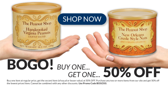 Sale at The Peanut Shop of Williamsburg