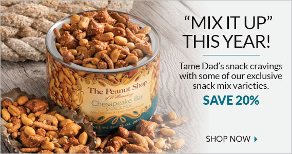 Snack Mixes - The Peanut Shop of Williamsburg