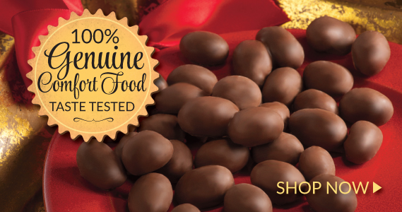 Chocolate Covered Peanuts - The Peanut Shop of Williamsburg