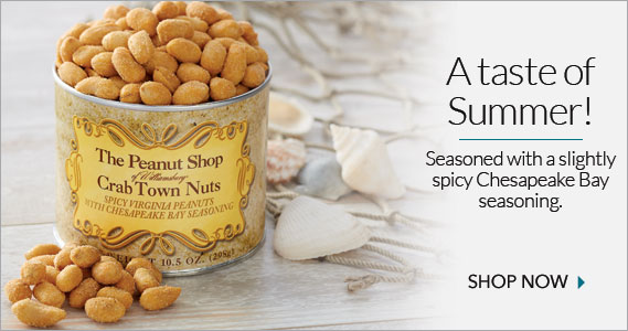 Crabtown Peanuts - The Peanut Shop of Williamsburg