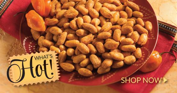 Habanero Peanuts- The Peanut Shop of Williamsburg