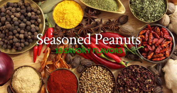 Seasoned Peanuts - The Peanut Shop of Williamsburg